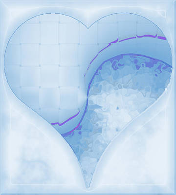 Digital Art - Quiet Kiss 1 by Wendy J St Christopher