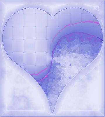 Digital Art - Quiet Kiss 2 by Wendy J St Christopher