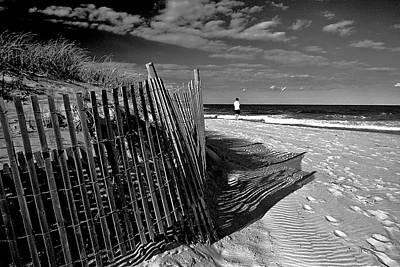 Quiet Moment At The Shore Art Print