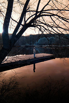 Photograph - Quiet Moment Reflecting by Rebecca Parker