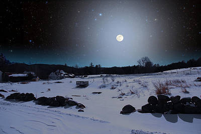 Photograph - Quiet Moonlight by Larry Landolfi