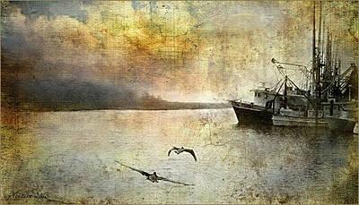 Quiet Morn Art Print by Bill Voizin