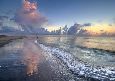 Delray Beach Photograph - Quiet Morning by Debra and Dave Vanderlaan