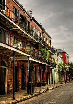 Morning Photograph - Quiet Morning In The French Quarter by Chrystal Mimbs