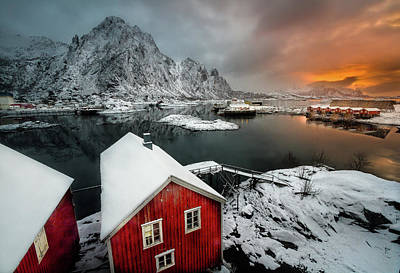 Norway Wall Art - Photograph - Quiet Morning by Lior Yaakobi