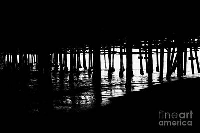 Photograph - Quiet Pier Pillars by David Lee