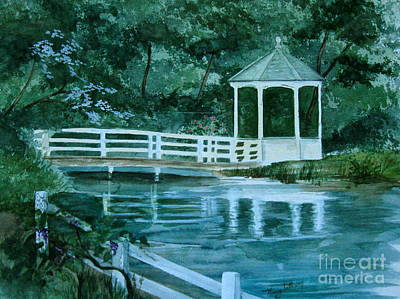 Painting - Quiet Place  by Nancy Patterson
