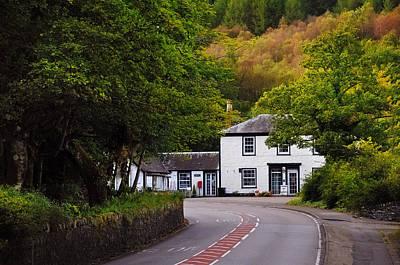 Photograph - Quiet Place. Near Loch Lomond. Scotland by Jenny Rainbow