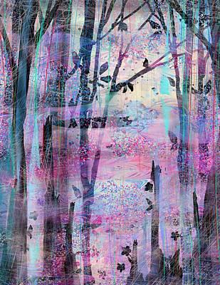 Quiet Place Print by Rachel Christine Nowicki