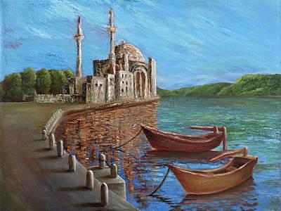 Painting - Quiet Quay by Siyavush Mammadov