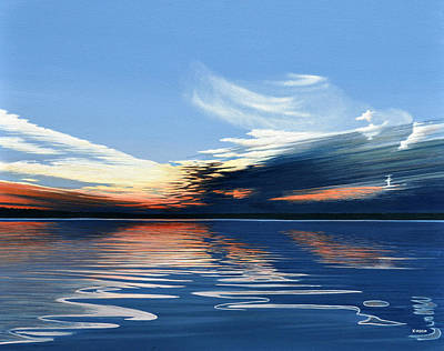Painting - Quiet Reflections by Kenneth M Kirsch