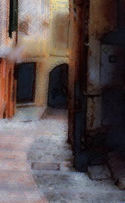 Photograph - Quiet Street Italy  C# 65 by Viggo Mortensen