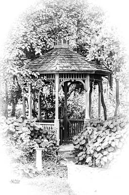 Photograph - Quiet Time In The Gazebo by Julie Palencia