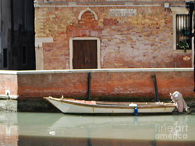 Art Print featuring the photograph Quiet Venice by William Wyckoff