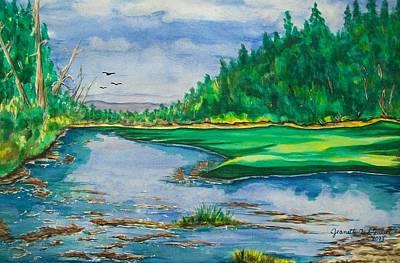 Quiet View Art Print by Jeanette Stewart