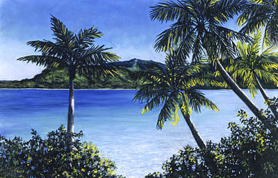Haleiwa Painting - Quiet Waters by Stacy Vosberg