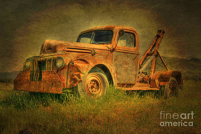 Photograph - Quietly Rusting by David Birchall