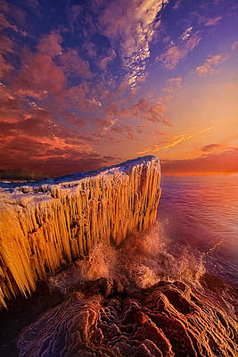 Lake Michigan Photograph - Quietly Winter Reigns by Phil Koch