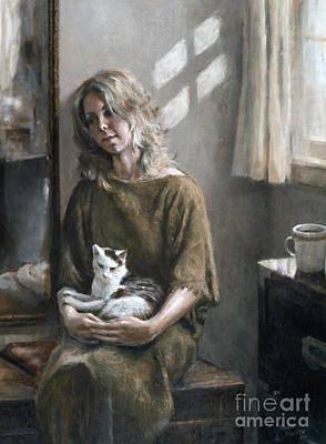 Quietude Painting - Quietude by Richard Hauser