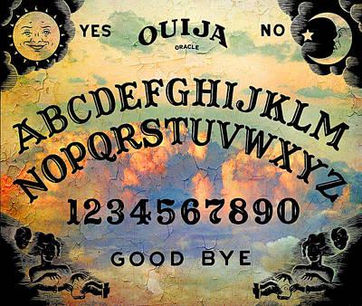 Quija Classic Art Print