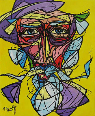 Don Quijote Painting - Quijote Fragmentado by Onix