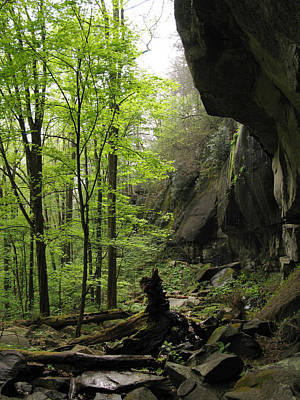 Photograph - Quilliams Cave by Melinda Fawver