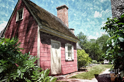 Painting - Quilters Cottage by Shari Nees