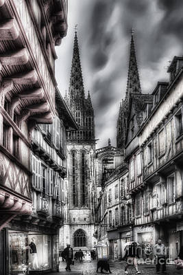 Quimper France Art Print by Colin Woods