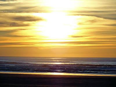 Photograph - Quinault Beach Sunset by Robert Meyers-Lussier