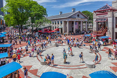 Photograph - Quincy Market In Summer by Susan Cole Kelly