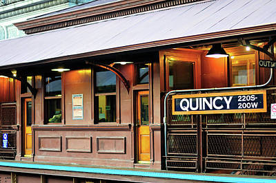 Photograph - Quincy Street Station by Bruce Leighty