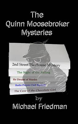 Dust Jacket Drawing - Quinn Moosebroker by Mike Friedman