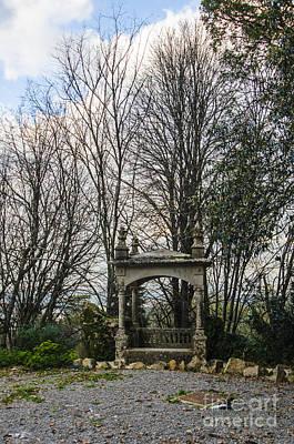 Photograph - Quinta Da Regaleira Bench by Deborah Smolinske