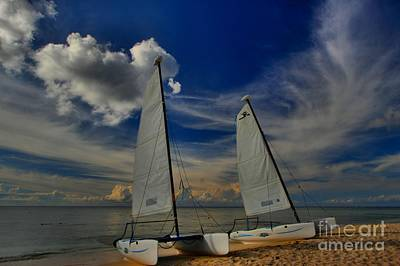 Photograph - Quintana Roo Hobie Cats by Adam Jewell