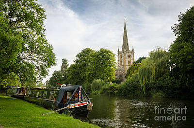 Quintessential English Countryside At Stratford-upon-avon Art Print by OUAP Photography