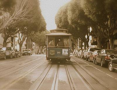 Photograph - Quintessential San Francisco by Kandy Hurley