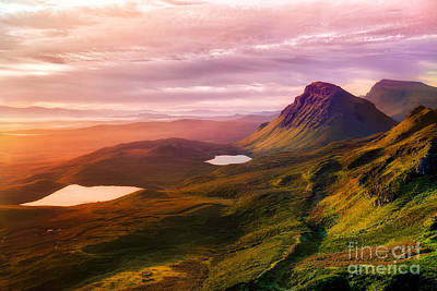 Photograph - Quiraing - Isle Of Skye by Matt  Trimble