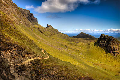 Photograph - Quiraing View by Fiona Messenger