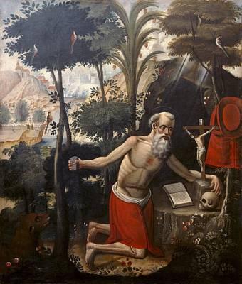 Quispe Tito, Diego 1611-1681. Saint Print by Everett