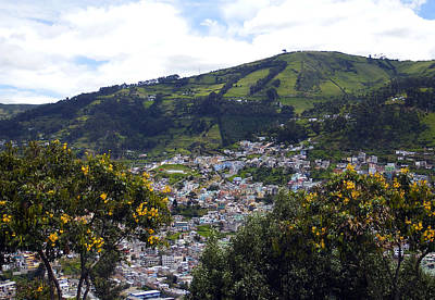 Photograph - Quito From El Panecillo by Kurt Van Wagner