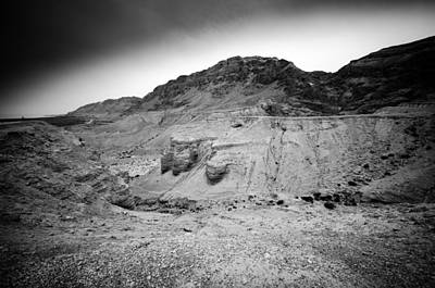 Photograph - Qumran  by David Morefield