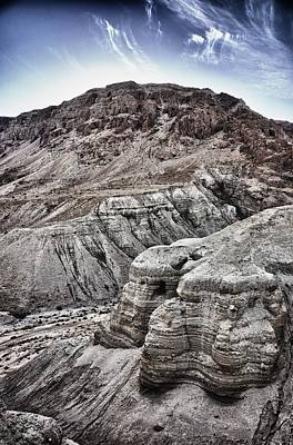 Photograph - Qumran by Mark Fuller