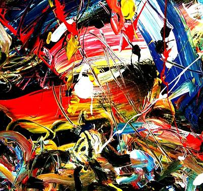 Painting - Quantum Time Travel by Neal Barbosa