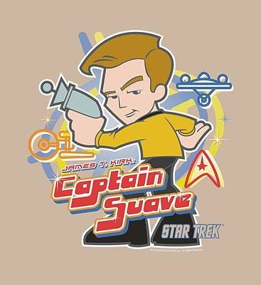 Science Fiction Digital Art - Quogs - Captain Suave by Brand A
