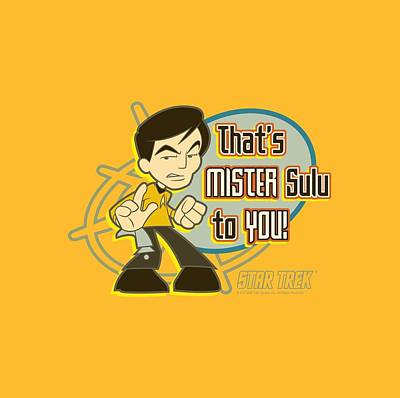 Science Fiction Digital Art - Quogs - Mr Sulu To You by Brand A
