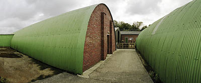 Raf Photograph - Quonset Huts Raf Knettishall by Jan W Faul