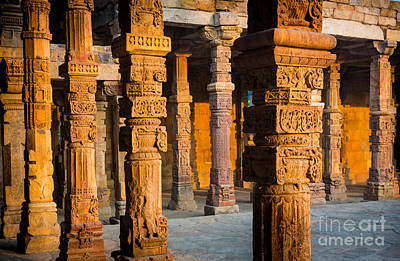 Photograph - Qutab Minar Hall by Inge Johnsson