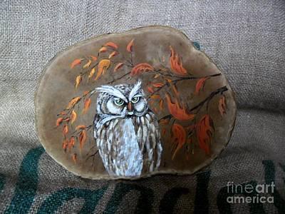 Qwl Art Print by Ildiko Decsei