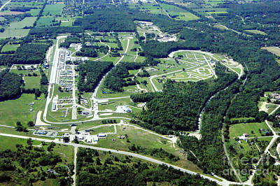 Photograph - R-034 Road America Elkhart Lake Wisconsin To South by Bill Lang
