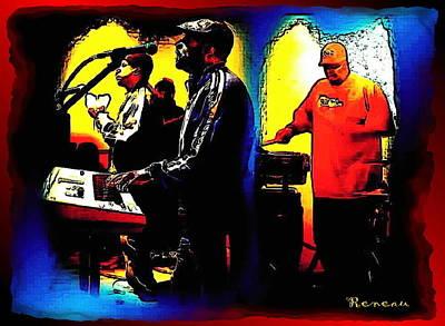 R And B Band Art Print by Sadie Reneau